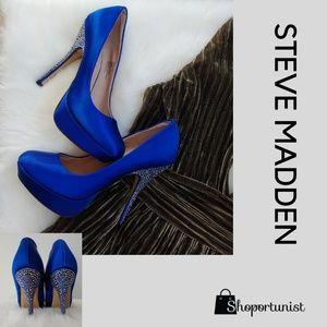 Steve Madden Royal Blue Stilettos